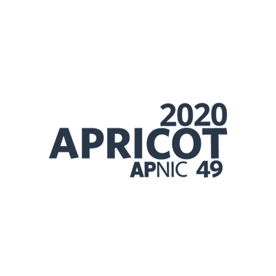 APRICOT 2020 Internet Conference logo