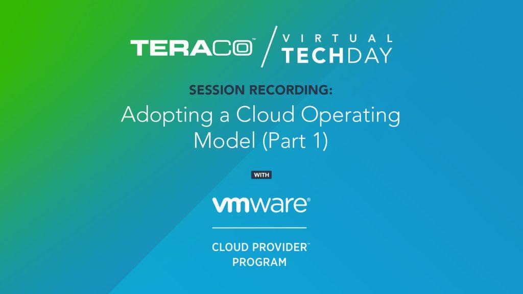 Teraco Tech Day | VMWare (Part 1)